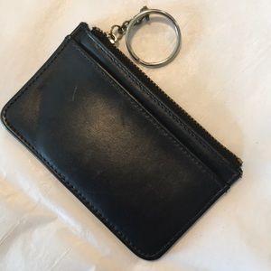 Vintage Coach Leather Keychain Case